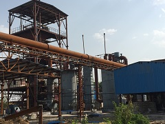 Pyrolysis Ultra Clean Gas Station at Insulators & Electricals Company, Bhopal